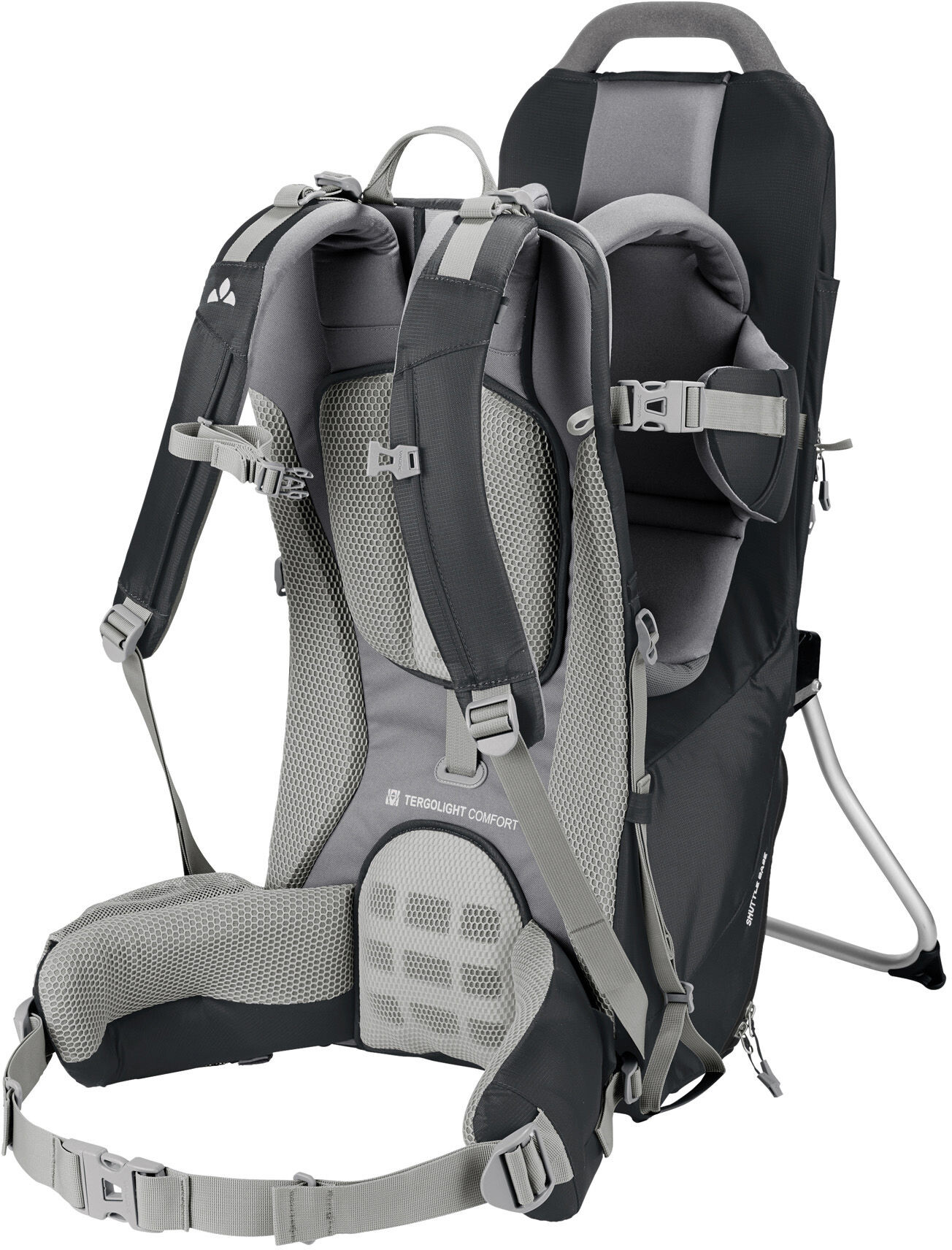 VAUDE Shuttle Base Child Carrier black - addnature.com d05c14e74fa6c